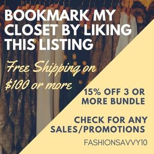 LIKE THIS LISTING TO BOOKMARK MY PAGE!!